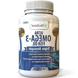 Omega 3 Fish Oil Supplement | Non-GMO, Made in The USA | EPA