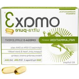 Omax3® Ultra-Pure Omega 3 Fish Oil Supplement, Direct from
