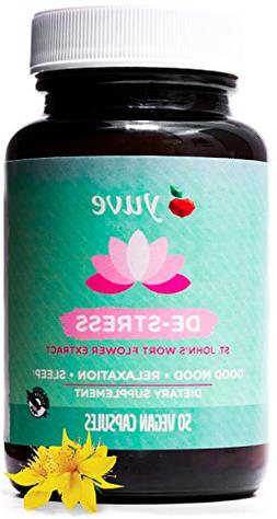 Yuve Vegan Anxiety Relief Vitamin Supplement - Mood Enhancer