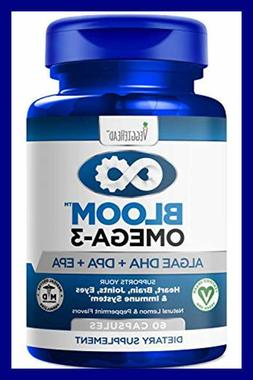 Vegan Omega 3 Better Than Fish Oil Plant Based Algae DHA EPA