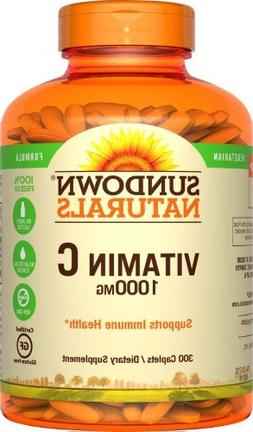 Sundown Naturals Vitamin Supplement High Potency Vitamin C 1