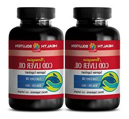 Vitamins for bones and joint pain - NORWEGIAN COD LIVER OIL