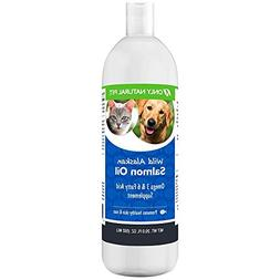 Only Natural Pet Wild Alaskan Salmon Oil for Dogs & Cats - O