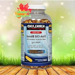 Kirkland Signature 100% Wild Fish Oil Blend with Wild Alaska