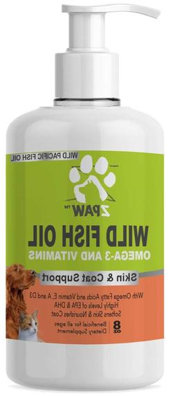 ZPAW Wild Fish Oil Omega 3 and Vitamins for Dogs and Cats Sk