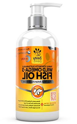 Wild Omega 3 Fish Oil - For Small Dogs & Cats - Antarctic Kr